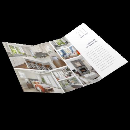 REM Real Estate Agent Market Report Postcard Listing Presentation Mailer 001