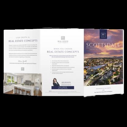 REM Real Estate Agent Market Report Postcard Listing Presentation Mailer 003